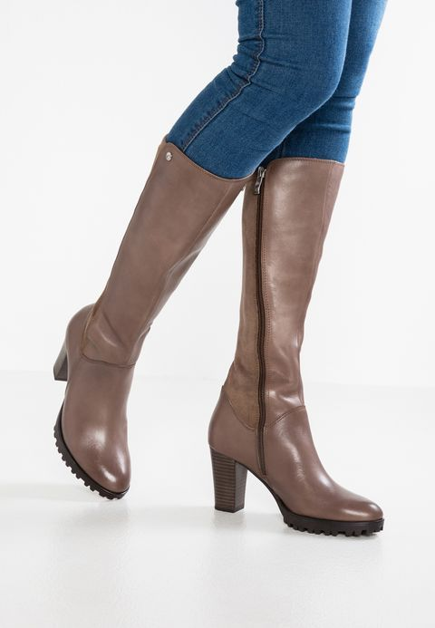 Caprice Platform boots - taupe for £77.99 (02 03 18) with free ... dfc1a2eb63