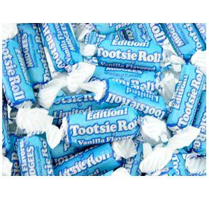 Vanilla Tootsie Rolls