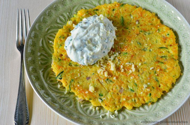 engelchens-probierstuebchen: Gemüse-Hirse-Pfannkuchen