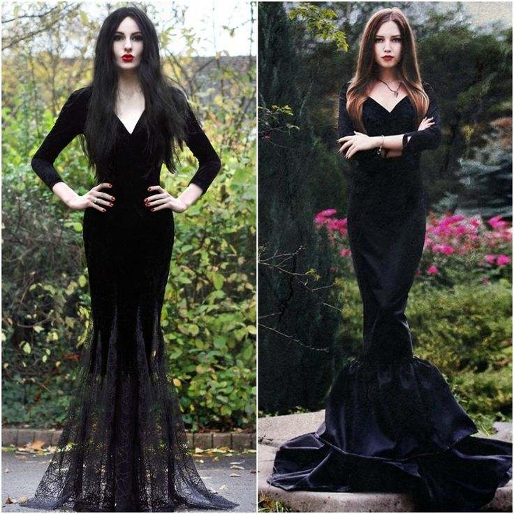 Morticia Addams Adams Family Costume Ideas Fancy Dress Halloween 2014 | I love this idea!!!