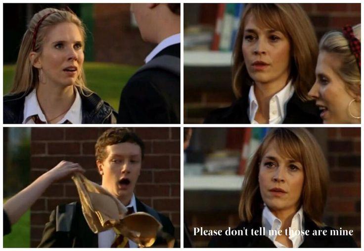 "All time fav line ""Please don't tell me those are mine"" ahaha Rachel Mason/ Eva Pope :) #WaterlooRoad"