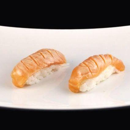 Salmon Torch Sushi