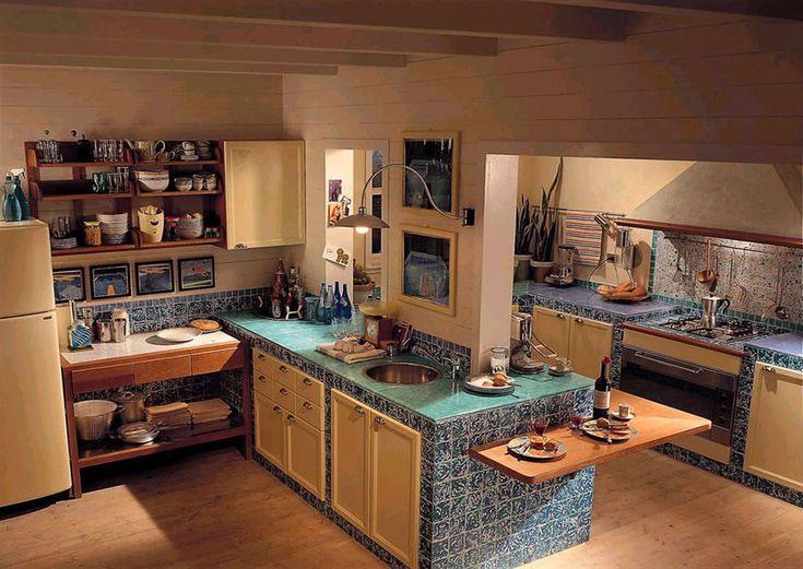 Cucina in muratura moderna n.15