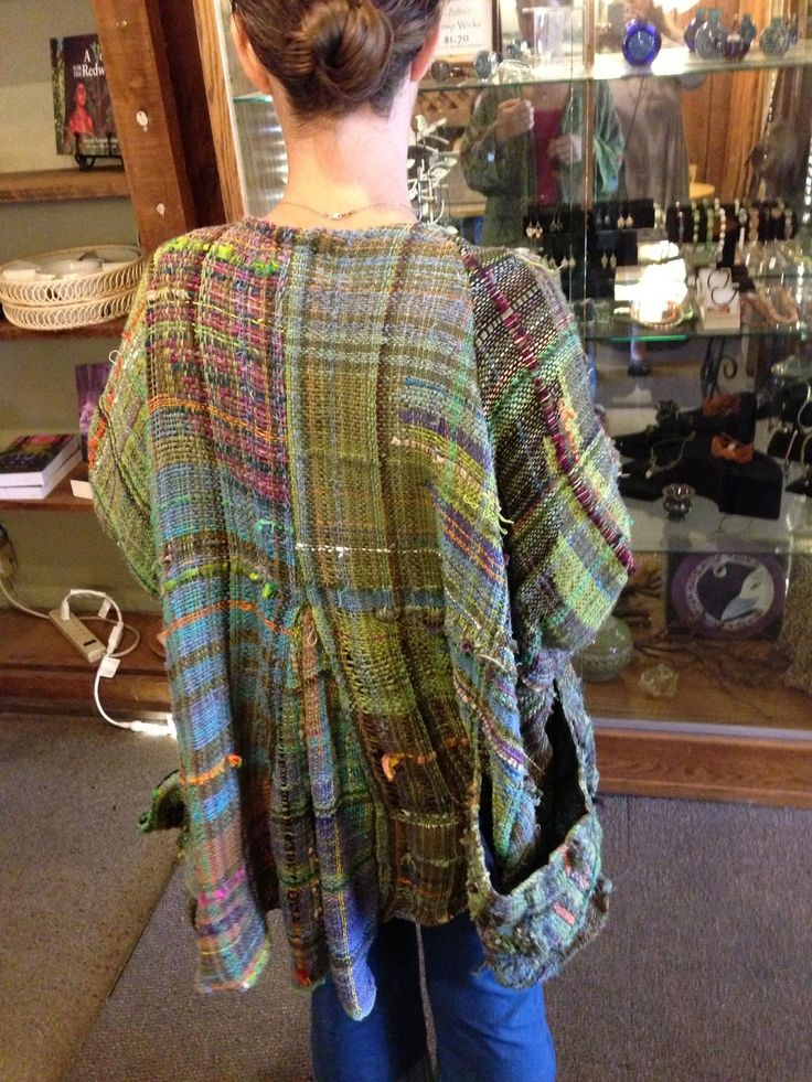 """CENTERING WITH FIBER: """"I never had so much FUN weaving, SAORI is great"""""""