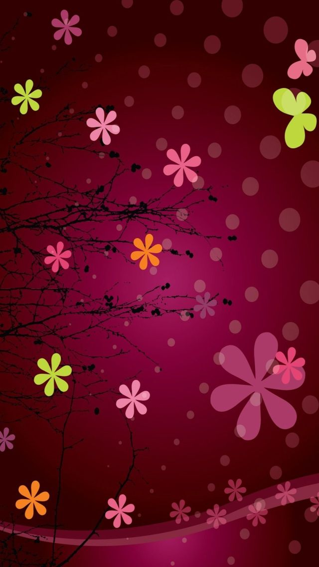 FLOWERS, IPHONE WALLPAPER BACKGROUND