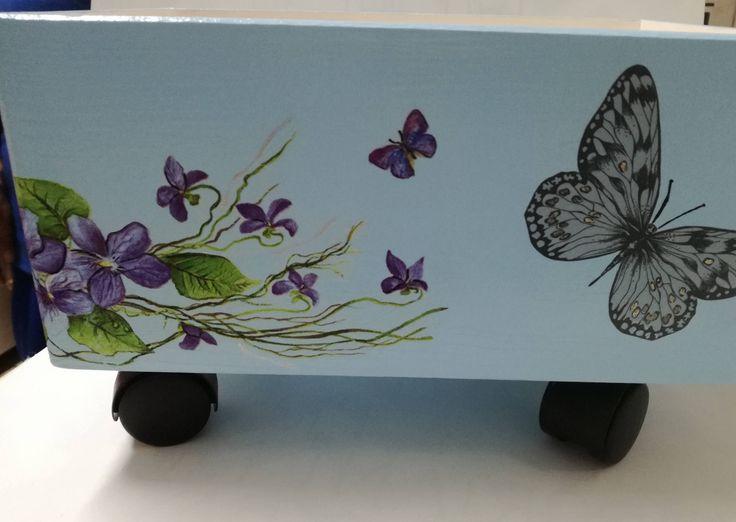 Storage box / Toy box by DedeHandmadeJewels on Etsy