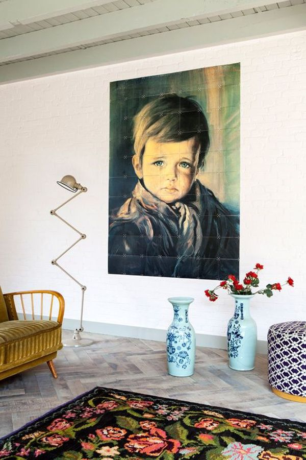 Persoonlijke styling in je interieur - lijsten aan de muur - Pimpelwit styling   Interieurontwerp en styling advies