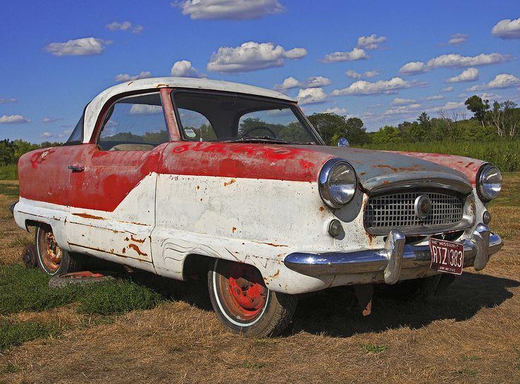 Nash Metropolitan Abandoned VehiclesAbandoned CarsBarn FindsRatCounting