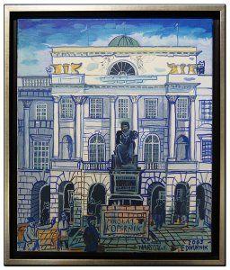 Edward DWURNIK 'Manifa' oryg. olej od ArteModerna (6442672754 ...