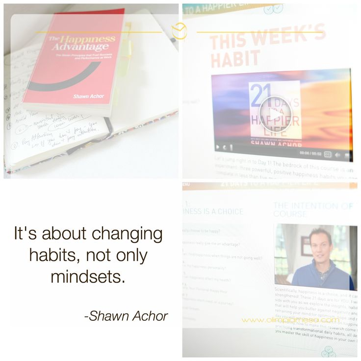 Day One of Shawn Achor's happy-book-to-courses transformation! Join in for Part 2 on Oprah Winfrey's Ocourses!