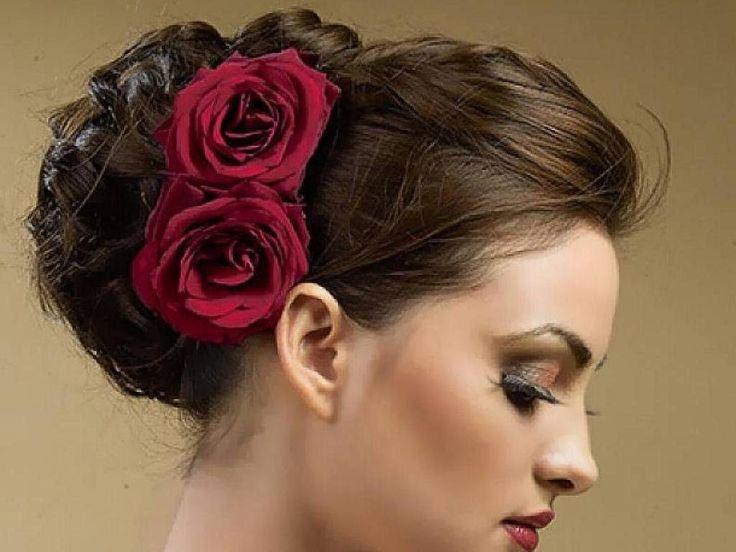Свадебные прически с розами - идеи для свадьбы