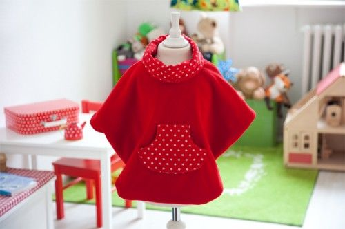 kostenloser Schnitt für Kinderponcho from Ina @ http://www.pattydoo.de