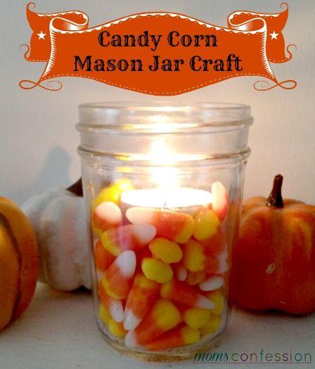 Candy Corn Votive