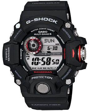 G-Shock Men's Digital Rangeman Black Resin Strap Watch 54x55mm GW9400-1 - Watches - Jewelry & Watches - Macy's