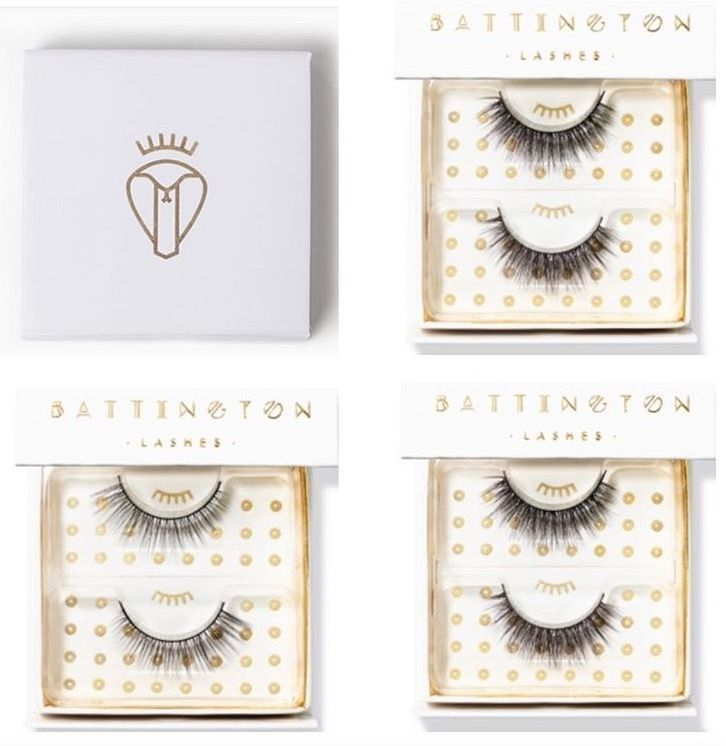 Top 3 bestselling Battington Lashes - kennedy, Monroe and Harlow. 100% silk lashes that can be worn up to 25x.