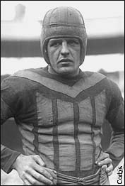 Red Grange - I was interviewing George Halas & I asked him who is ...