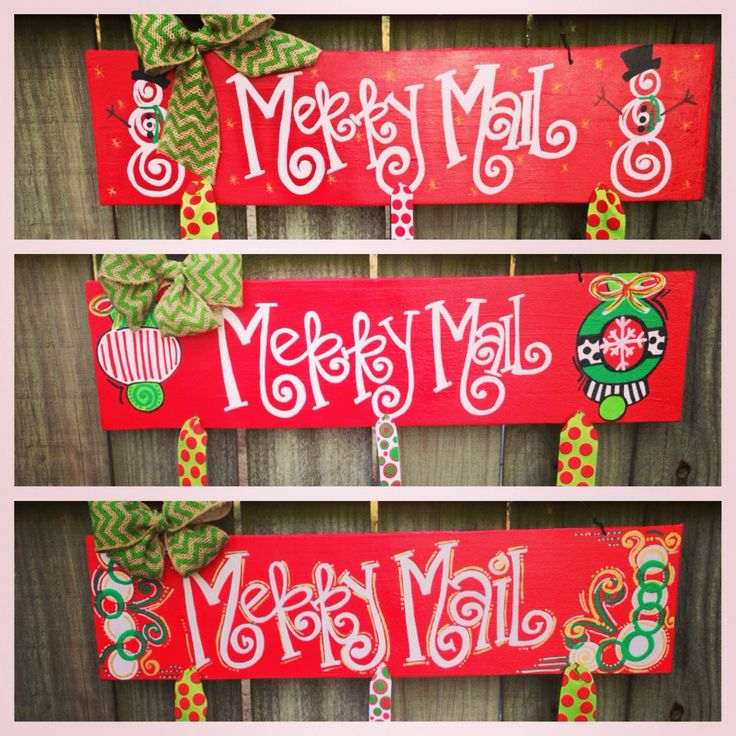 Merry Mail!! Hang your christmas cards! $30