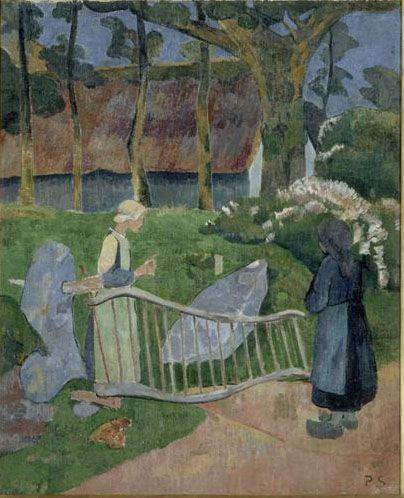 La barrière fleurie, Le Pouldu - Serusier Paul (1863-1927) --- Les Nabis
