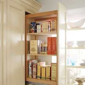 kitchen cabinets storage by hager cabinets inc