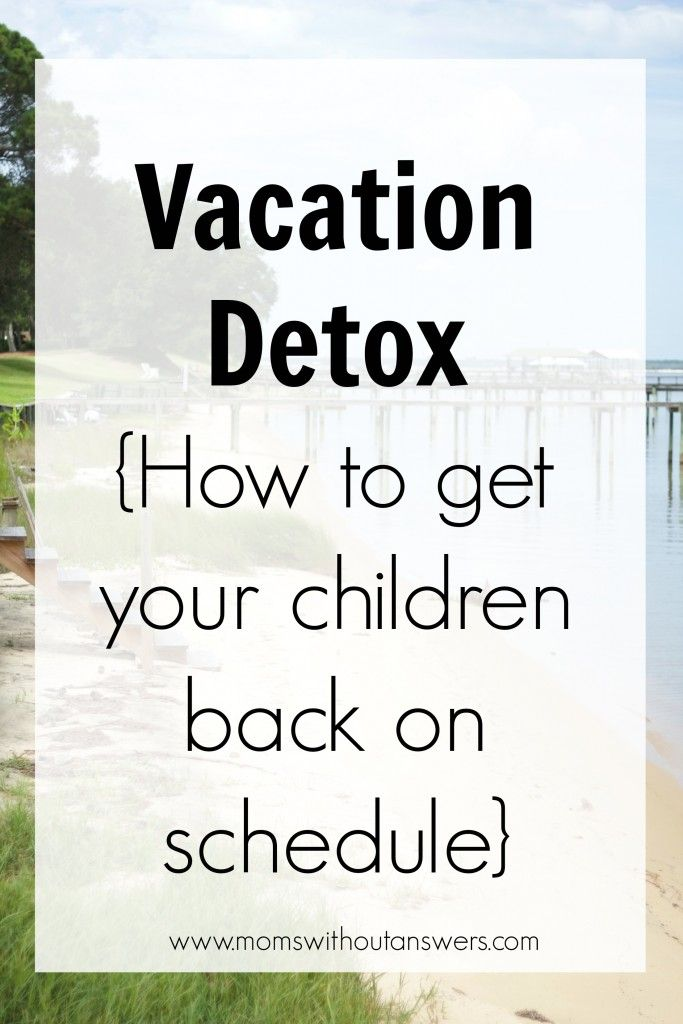 how to get baby back on schedule after traveling