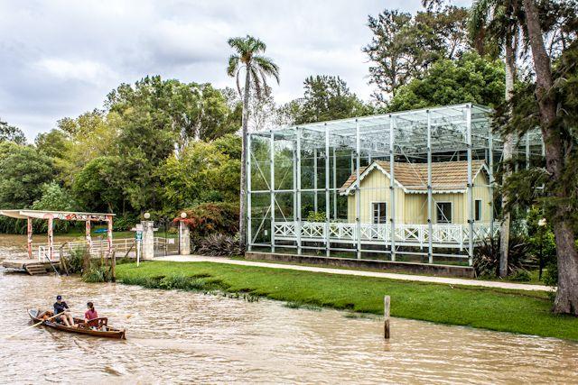 La Casa Museo Sarmiento, en la orilla del río Sarmiento - Tigre