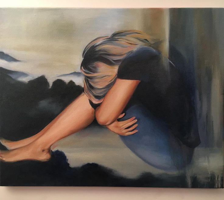 Untitled #oiloncanvas#painting
