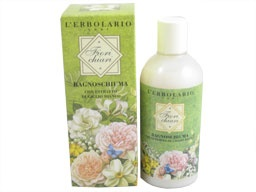 Fiori Chiari (Light Flowers) Bath and Shower Foam by L'Erbolario Lodi