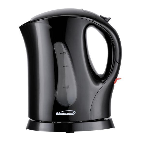 Brentwood Appliances Bpa Free 1 Liter Cordless Electric Kettle In 2020 Electric Kettle Electric Tea Kettle Tea Kettle