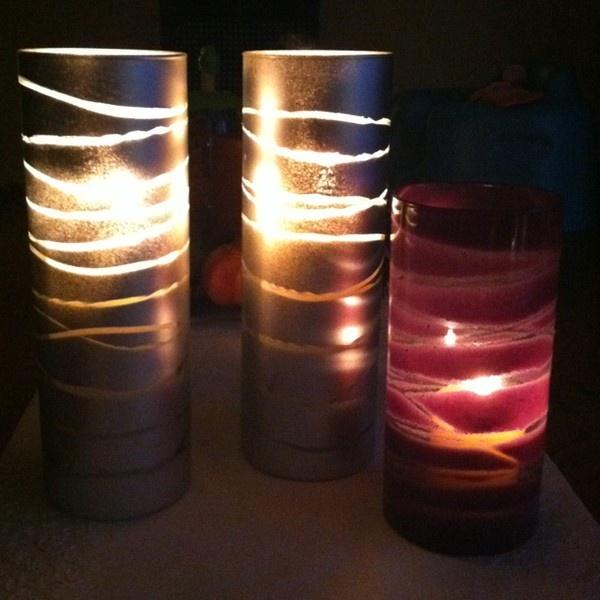 fun crafts candle holders artsy fartsy sprays forward candle holder. Black Bedroom Furniture Sets. Home Design Ideas