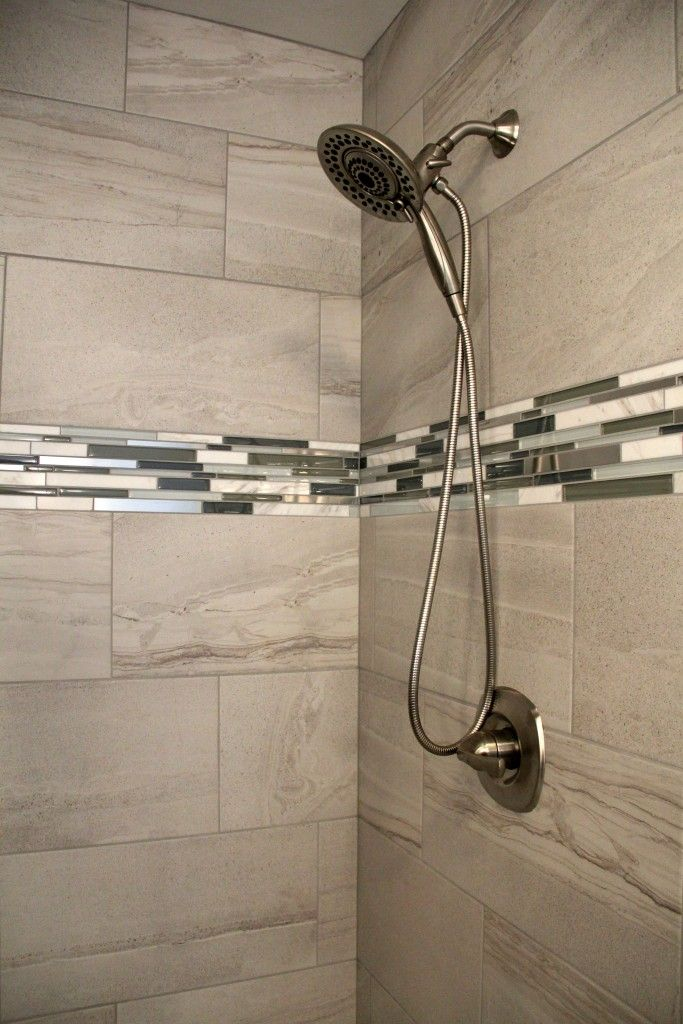 Tile Angora Amelia Mist And Glass Linear Strip Stone And