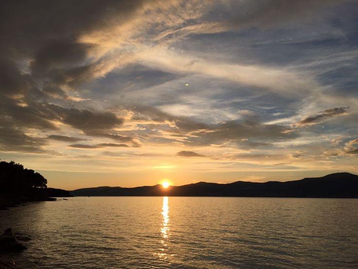 Sunset 🌄🌄 Marjan Split # croatia