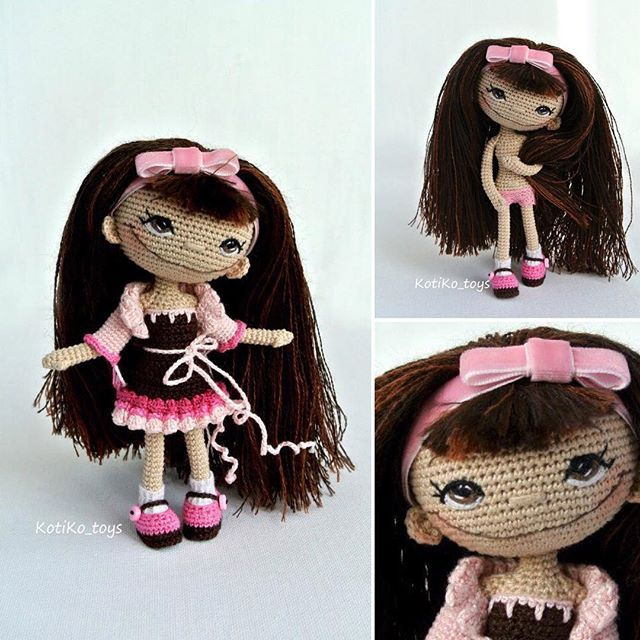 Cool amigurumi doll. (Inspiration).