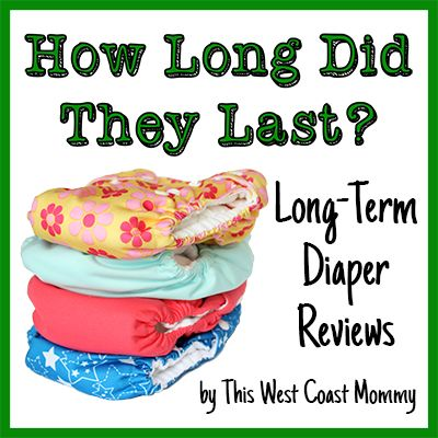 Bummis Organic Cotton Prefold Diapers Review: Four Years Later - This West Coast Mommy