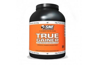 SNE True Gainer 5kg + Free SNE T-Shirt Price: WAS £89.99 NOW £51.38