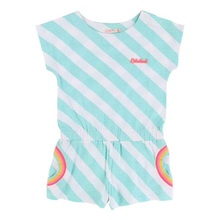 Rainbow Striped Playsuit-product