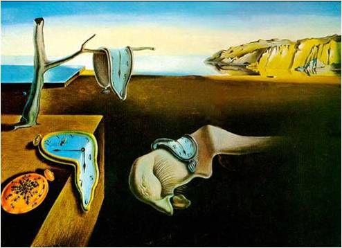 기억의 지속 Salvador Dali 초등학교 3학년 때 이 그림을 보고 충격을 받았던 기억이 난다.