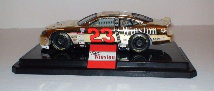 Jimmy Spencer 23 Gold No Bull Team Winston 1 24 Nascar