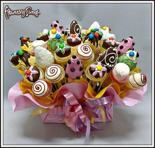 Brochetas Surtidas by Flowering Sweets  www.floweringsweets.com