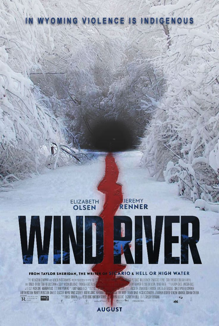 Wind River movie poster #horror