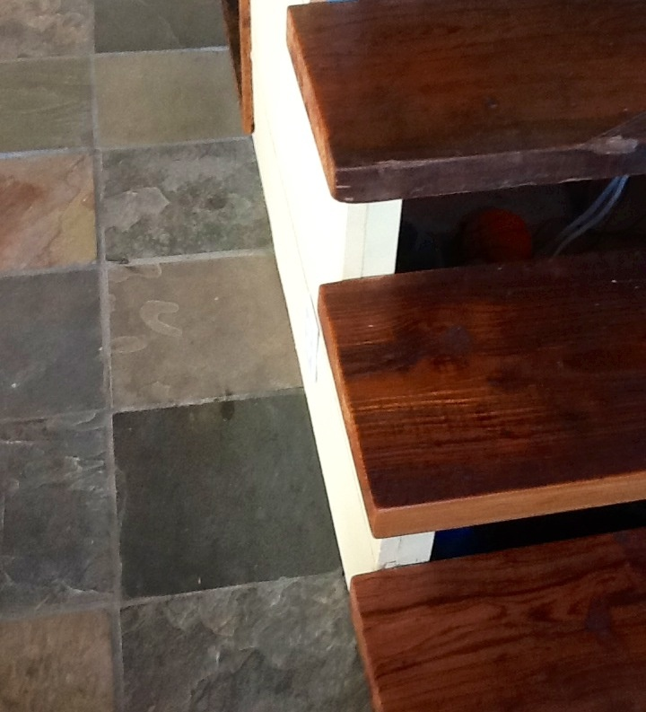 Best 2 Reclaimed Heat Pine Stair Treads Parts Of Stairs 400 x 300