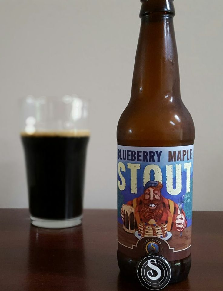 Saugatuck Brewing Blueberry Stout   on Sommbeer  http://sommbeer.com/saugatuck-brewery-blueberry-stout-and-so-much-more/