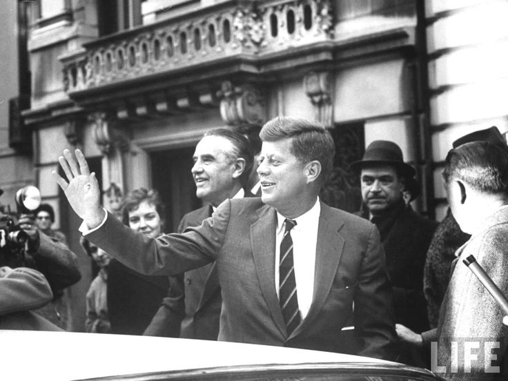 1961. Pres-Elect. John F. Kennedy just before Inauguration Day. Location