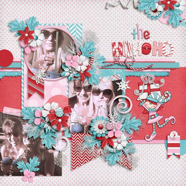 The Ho Ho Ho {Full Kit with Alphas}: Jen Yurko  https://pickleberrypop.com/shop/product.php?productid=62683&page=1 September Garden 2 Template: PrestnayaP Design  https://pickleberrypop.com/shop/product.php?productid=53417&page=2