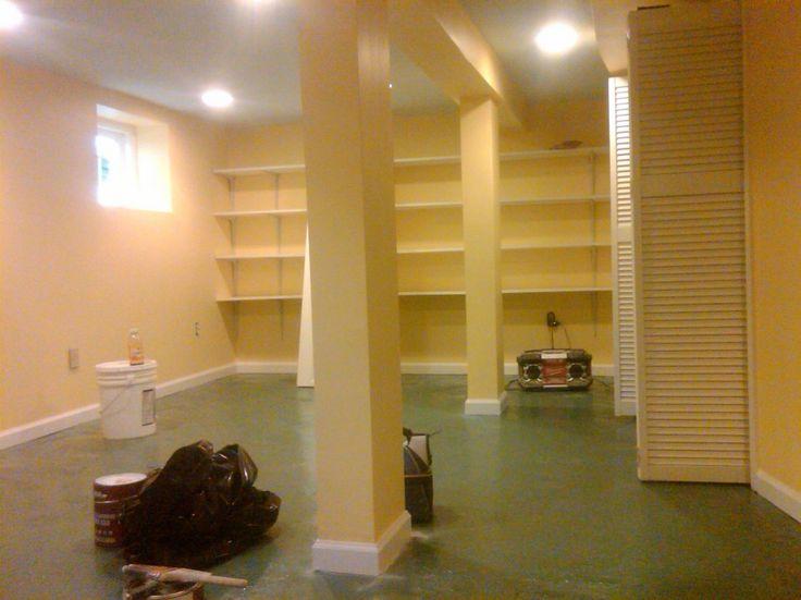 basement floor paint ideas | Painting Basement Floor for Beginners : Painting Basement Floor Decor