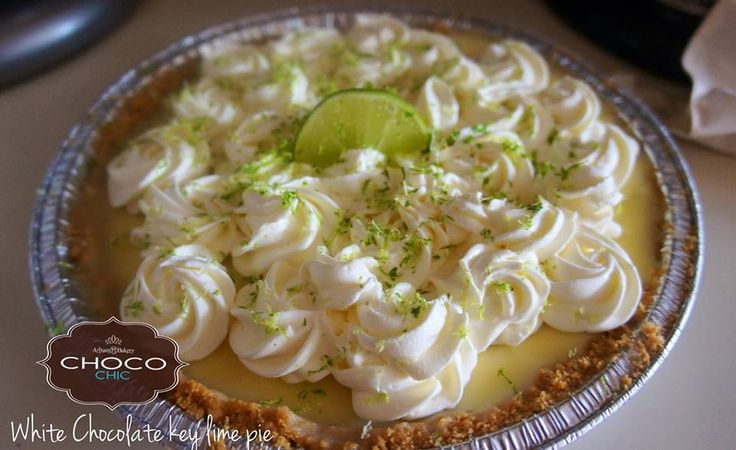 White Chocolate Key Lime Pie | Desserts | Pinterest