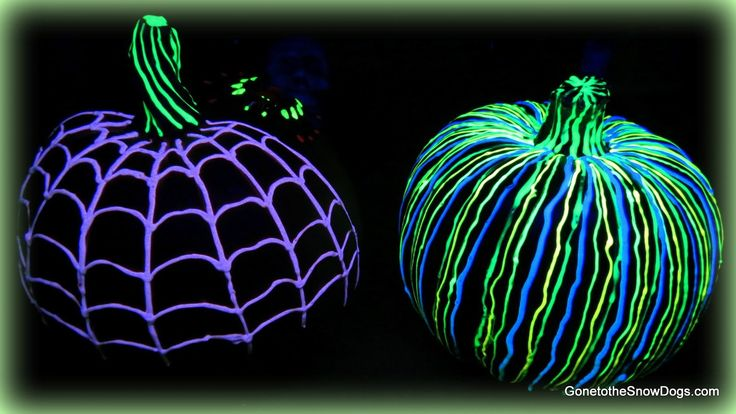 GLOW IN THE DARK PUMPKIN | DIY | #YTMM