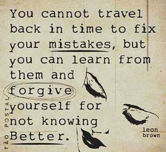 Don't Forget the Past. Learn from It.