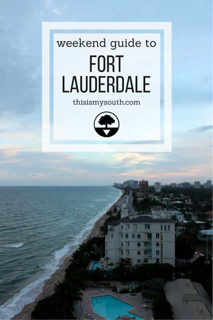Fort Lauderdale is more than just Miami's neighbor. You'll find an arts scene, award-winning restaurants, shopping and gorgeous beaches.