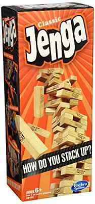 cool NEW Jenga Classic Board Game Block Stacking Party Family Fun Play With Kids !!! - For Sale Check more at http://shipperscentral.com/wp/product/new-jenga-classic-board-game-block-stacking-party-family-fun-play-with-kids-for-sale/
