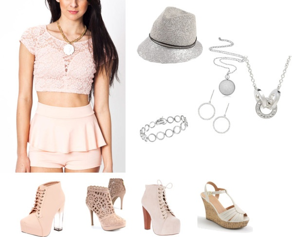 """""""Summer Peach Outfit"""" by darlene-a-frederick on Polyvore"""